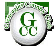 Logo of golf course named Gleneagles Country Club