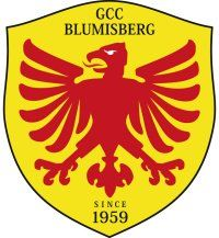 Logo of golf course named Golf and Country Club Blumisberg