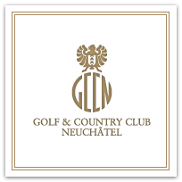 Logo of golf course named Golf and Country Club de Neuchatel