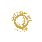 Logo of golf course named Golf and Country Club First Warsaw