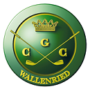 Logo of golf course named Golf and Country Club Wallenried