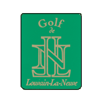 Logo of golf course named Golf Club de Louvain-La-Neuve