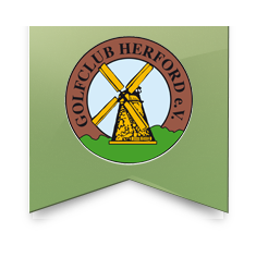 Logo of golf course named Golf Club Herford e.V.