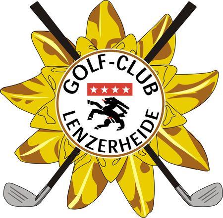 Logo of golf course named Golf Club Lenzerheide
