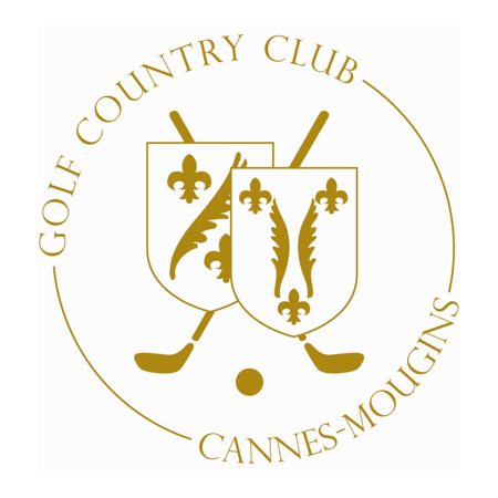 Logo of golf course named Golf Country Club Cannes Mougins