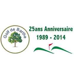 Logo of golf course named Golf de Barthe