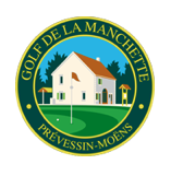Logo of golf course named Golf de La Manchette
