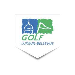Logo of golf course named Golf de Luxeuil-Bellevue