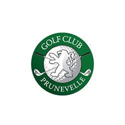 Logo of golf course named Golf de Prunevelle