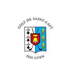 Logo of golf course named Golf de Saint Cast Pen Guen