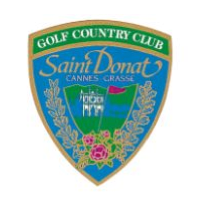 Logo of Golf club named Golf de Saint Donat