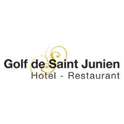 Logo of golf course named Golf de Saint Junien