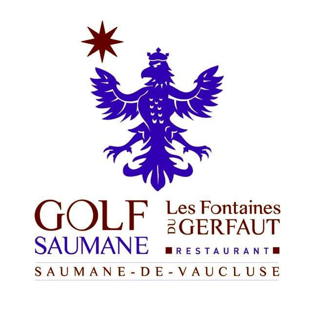 Logo of golf course named Golf de Saumane