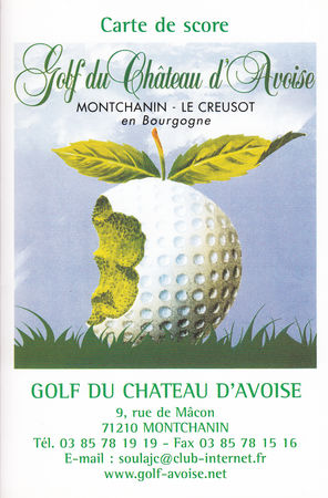 Logo of golf course named Golf Du Chateau d'Avoise