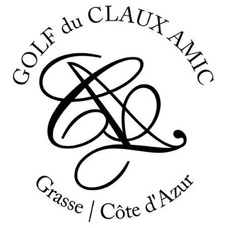 Logo of golf course named Golf Du Claux-Amic