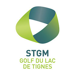 Logo of golf course named Golf Du Lac de Tignes