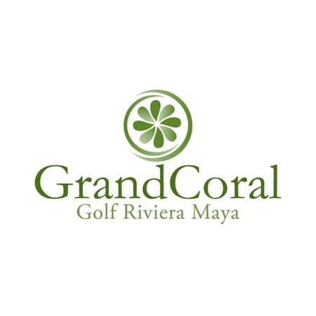 Logo of golf course named Golf Grand Coral Riviera Maya