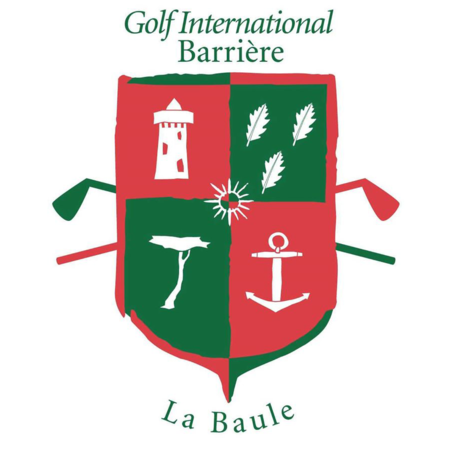 Logo of golf course named Golf International Barriere La Baule