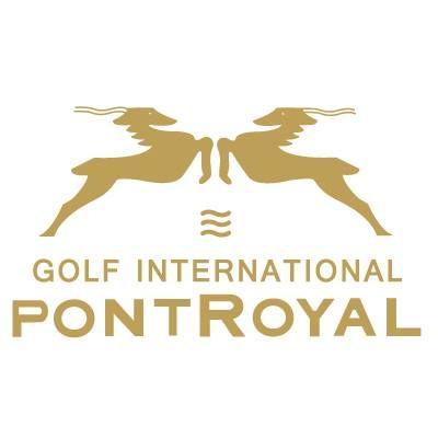 Logo of golf course named Golf International de Pont Royal