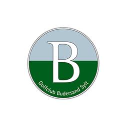 Logo of golf course named Golfclub Budersand Sylt