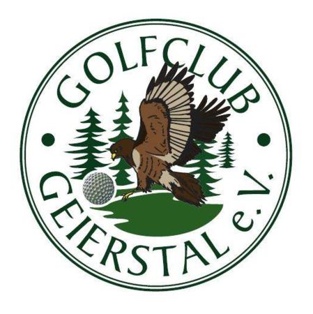 Logo of golf course named Golfclub Geierstal e.V.