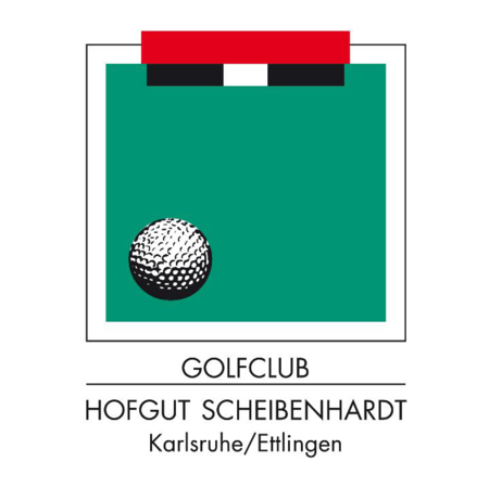 Logo of golf course named Golfclub Hofgut Scheibenhardt