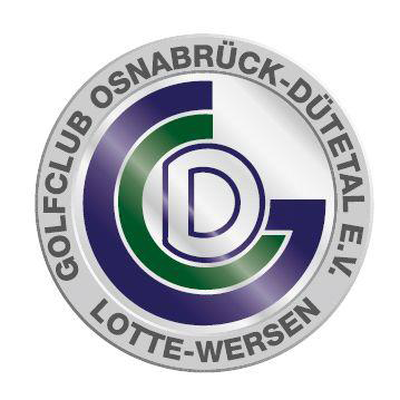Logo of golf course named Golfclub Osnabruck-Dutetal e.V.