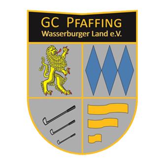 Logo of golf course named Golfclub Pfaffing Wasserburger Land e.V.
