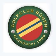 Logo of golf course named Golfclub Rugen e.V.