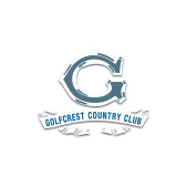 Logo of golf course named Golfcrest Country Club