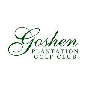 Logo of golf course named Goshen Plantation Golf Club
