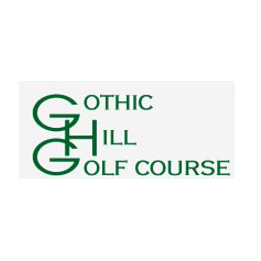 Logo of golf course named Gothic Hill Golf Course