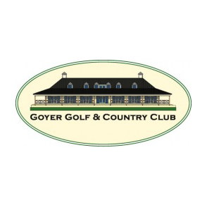 Logo of golf course named Goyer Golf and Country Club