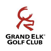Logo of golf course named Grand Elk Golf Course