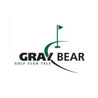 Logo of golf course named Gray Bear Golf Club Tale
