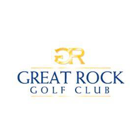 Logo of golf course named Great Rock Golf Club