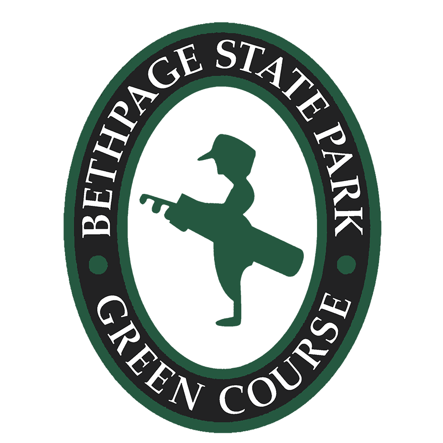 Logo of golf course named Green Course at Bethpage State Park Golf