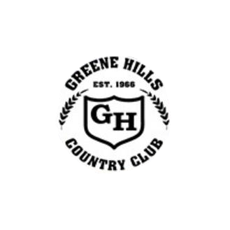 Logo of golf course named Green Hills Country Club