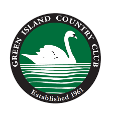 Logo of golf course named Green Island Country Club