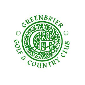 Logo of golf course named Greenbrier Golf and Country Club