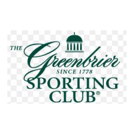 Logo of golf course named Greenbrier Sporting Club (Snead)