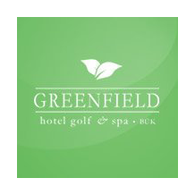 Logo of golf course named Greenfield Hotel Golf and Spa