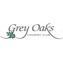 Logo of golf course named Grey Oaks Country Club
