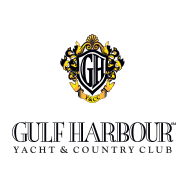Logo of golf course named Gulf Harbour Golf and Country Club