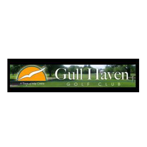 Logo of golf course named Gull Haven Golf Club
