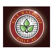 Logo of golf course named Gut Waldhof Golf Ag