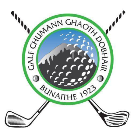 Logo of golf course named Gweedore Golf Club