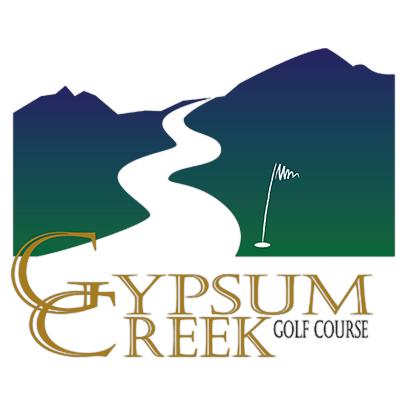 Logo of golf course named Gypsum Creek Golf Course