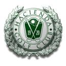 Logo of Golf club named Hacienda Golf Club