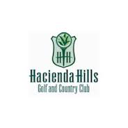 Logo of golf course named Hacienda Hills Golf and Country Club